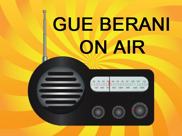 GUE BERANI TALKSHOW ON KISI RADIO